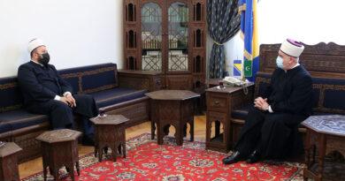 Reis Islamske zajednice Crne Gore u posjeti kod Kavazovića i Džaferovića