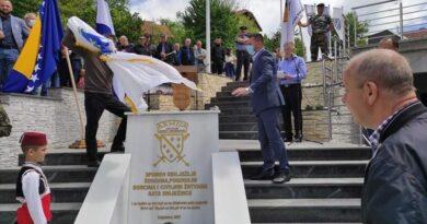 Ministar Ramić u Teočaku otkrio spomen-obilježje