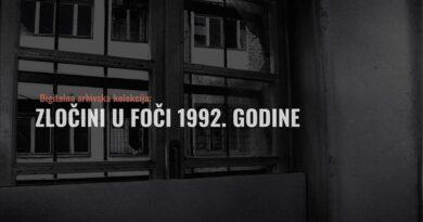 """Fond za humanitarno pravo predstavio prvu digitalnu kolekciju """"Zločini u Foči 1992."""""""