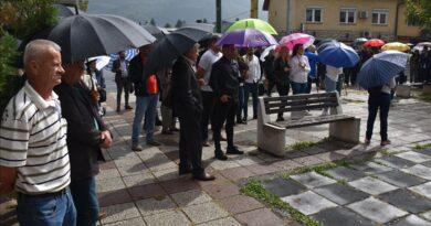 BEZ FORTE I KOJOVIĆA! U Goraždu održan protest zbog hapšenja Vranja