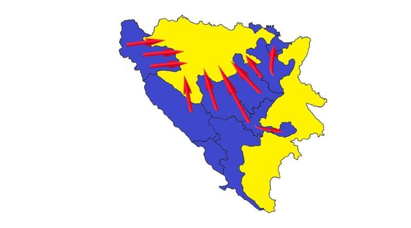 Ako Dodik naruši ustavno uređenje BiH, da li će ostati bez zapadnog dijela RS?